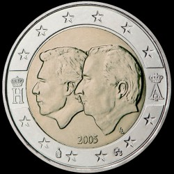 2€ Belgio 2005
