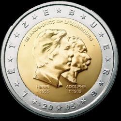 2€ Lussemburgo 2005