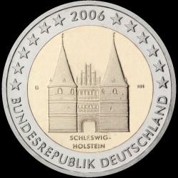 2€ Germania 2006 J
