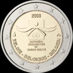 2€ Belgio 2008