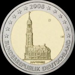 2€ Germania 2008 D