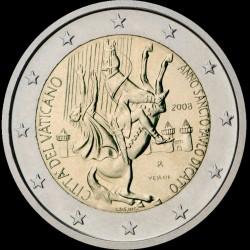 2€ Vaticano 2008