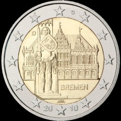 2€ Germania 2010 J