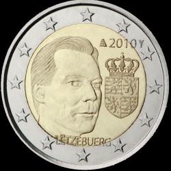 2€ Lussemburgo 2010