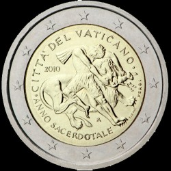 2€ Vaticano 2010