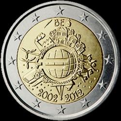 2€ Belgio 2012