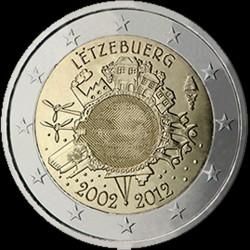 2€ Lussemburgo 2012