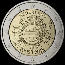 2€ Olanda 2012