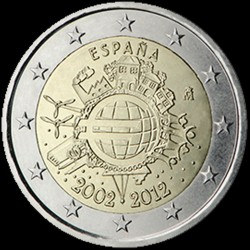 2€ Spagna 2012