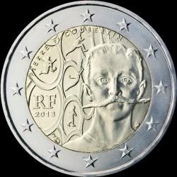 2€ Francia 2013