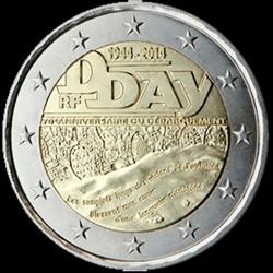 2€ Francia 2014