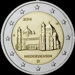 2€ Germania 2014 D