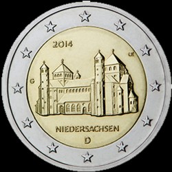 2€ Germania 2014 J