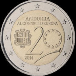 2€ Andorra 2014