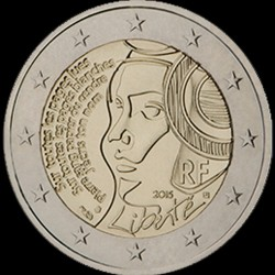 2€ Francia 2015