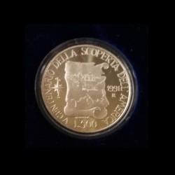 500 Lire C. Colombo 1991