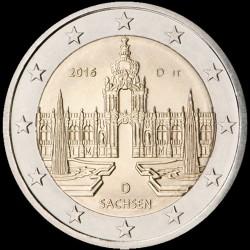 2€ Germania 2016 D